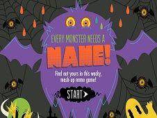 Nickelodeon Name Your Monster