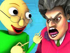 Evil Teacher Baldi
