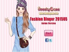 Fashion Blogger 201505 Anime Version