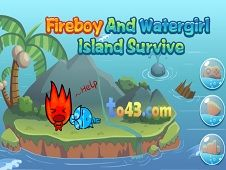 Fireboy and Watergirl Island Survival