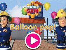 Fireman Sam Balloon Pop
