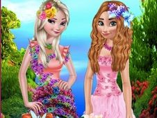 Flower Princess Dress Up