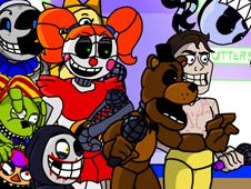 FNF: Five Funky Nights At Freddy's