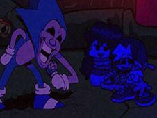 FNF: Majin Sonic sings Expurgation