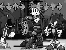 FNF: Sonic.exe and Sonic Sings Happy