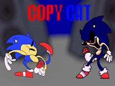 FNF: Sunky And Sonic.EXE Sings Copy Cat