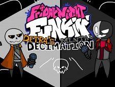 FNF vs Detra's Mental Decimation