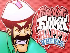 FNF vs Irresponsible Dad (Happy Wheels)