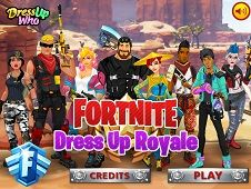 Fortnite Dress Up Royal