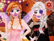 Frozen Sisters Halloween Party