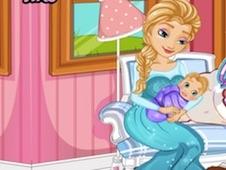 Frozen Elsa Gives Birth