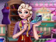 Frozen Princess Sneakers Design