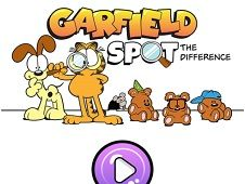 Garfield Spot The Difference