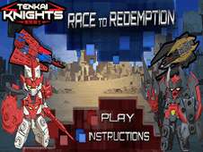 Tenkai Knights Race to Redemption