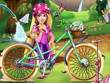 Girls Fix It Rapunzel Bicycle