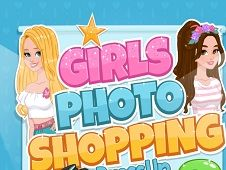 Girls Photo Shopping Dress Up