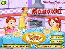 Gnocchi Cooking