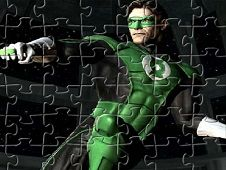 Green Lantern Fighting
