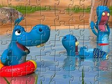 Happos Family Characters Puzzle