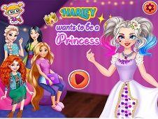 Harley Wants to be a Princess