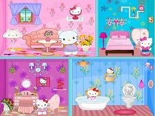 Hello Kitty Spring House