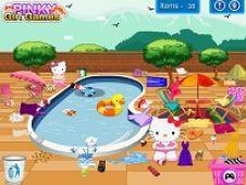Hello Kitty Swimming Pool