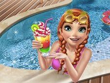 Ice Princess Pool Party