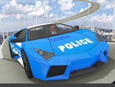 Impossible Police Car Track