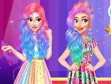 Influencers Colorful Fashion