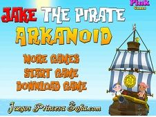 Jake the Pirate Arkanoid