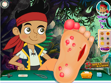 Jake the Never Land Pirate Foot Doctor