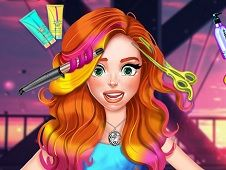 Jessie New Year Glam Hairstyle