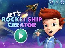 Jet Rocket Ship Creator