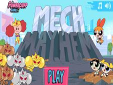 The Powerpuff Girls Mech Mayhem