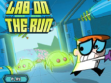 Dexter Lab on the Run
