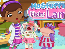Doc Mcstuffins Fixing Lambie