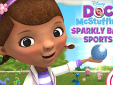 Doc Macstuffins Sparkling Ball Sports