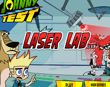 Johnny Test Laser Lab