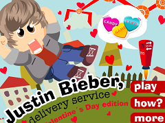 Justin Bieber Delivery Services