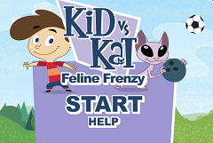Kid vs Cat Feline Frenzy