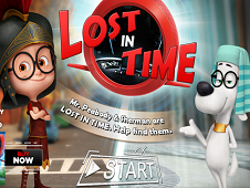 Mr. Peabody and Sherman Lost in Time