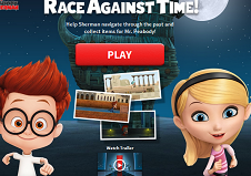 Mr. Peabody and Sherman Race Against Time