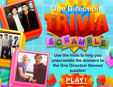 One Direction Scramble