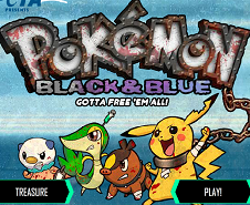 Pokemon Black and Blue Battle