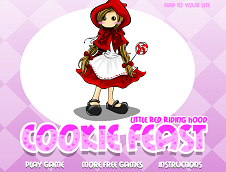 Red Ridding Hood Cookie Feast