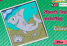 Shark Tale Coloring