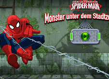 Spiderman Monsters Under the Secret Base