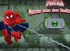 Spiderman Monsters Under the Secret Base