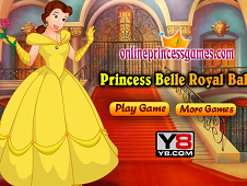 Princess Bell Royal Ball Dress Up