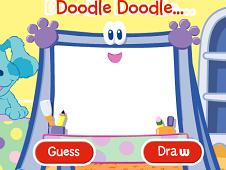 Blue Clue Doodle Guess